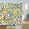 "Lemon on The Tree Shower Curtain Fresh and Simple Bath Fabric 71"""