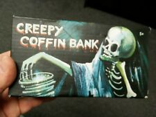 New Creepy Coffin Bank 2014 Westminster wind up toy coin bank free shipping