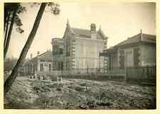 France, Soulac sur Mer, Villa Médulienne  Vintage print. Aquitaine. Gironde.