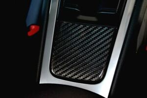 Carbon Fiber Ashtray Panel - Porsche 991 Carrera, 981/982 Cayman/Boxster - Twill