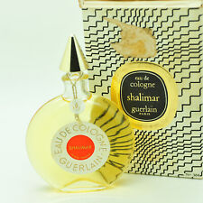 Vintage Guerlain SHALIMAR 45ml Eau de Cologne, 50 year old bottle