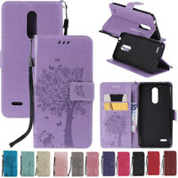 For LG G7 ThinQ K8 K10 2018 Phone Case Magnetic Flip Leather Card Wallet Cover