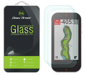 2-Pack Dmax Armor Tempered Glass Screen Protector for Garmin Approach G80