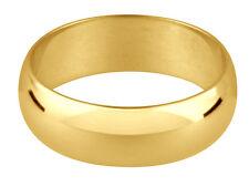 9ct  wedding Ring Large Sizes 4mm