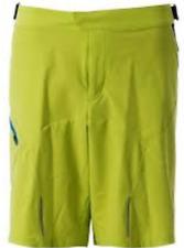 Odlo Flo 14 Amarillo/Negro Pantalones Cortos De Hombre Talla Grande Reino Unido * Ref. 99 *