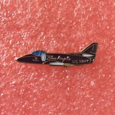 Pins Avion de Chasse BLUE ANGELS F-18 Patrouille US MARINE Airplane Navy