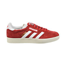 Adidas Gazelle Super Mens Shoes Red-Vintage White-Gold Metallic bb5242