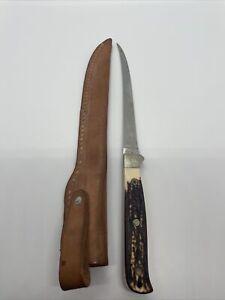 Vintage SCHRADE + USA 167 Uncle Henry Fillet Knife