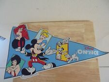 Vintage Disney on Ice Pennant