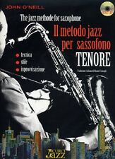 J. O'Neill - Il metodo jazz per sassofono tenore + CD