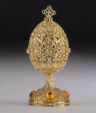 Faberge gold Ei Kasten von Keren Kopal & oesterreichischen Kristallen