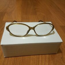 Vintage Metal Gold Christian Dior Glasses Made in Australia
