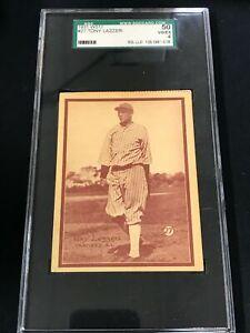 1931 W517 #27 TONY LAZZERI SGC 50 VG-EX 4 New York Yankees ~SC2A