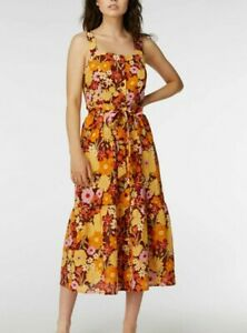 Princess Highway Floral Midi Dress New!
