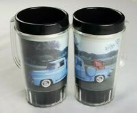 Vintage 1992 Mac Tools Plastic Mugs / Cups Lot of 2 1950s Ford Truck