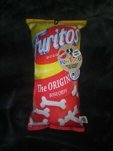 *NEW* SPOT FUN FOOD 14' *FURITOS DOGGIES* TOY JUMBO BAG OF CHIPS FOR DOGS