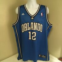 Adidas Men NBA Basketball Jersey Orlando Magic Dwight Howard  #12 XL +2 Stitches