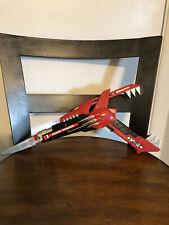 Vintage 1991 Bandai Power Rangers Red Ranger Gun Sword Blaster Works #3