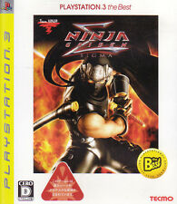 [PS3] Ninja Gaiden Sigma PlayStation 3 the Best / Tecmo [Japanese]