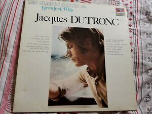 Vinyl JACQUES DUTRONC 33 tours