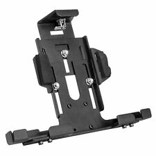 TAB004KL-B: Universal Locking Adjustable Metal Tablet Holder with Key Lock