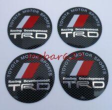 Alloy Tyre Wheel Center Hub Cap Rims Trd Badge Stickers t#438