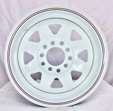 "13X4.5"" WHITE SUNRAYSIA  Wheel FORD&HT MUTI Stud Pattern for TRAILER& CARAVAN"