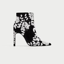 Zara Women's Floral Bootie for sale   eBay