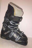 TECNICA Rival X9 Ski Boots Womens 7 24.0 284mm Charcoal Blue AVS Italy Made