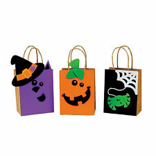 Halloween Friends Trick-Or-Treat Bags Craft Kit - Craft Kits - 50 Pieces