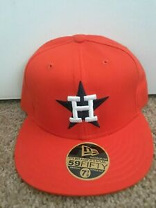 Houston Astros fitted bcap BRAND NEW by New Era-Orange