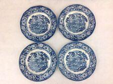 "Liberty Blue Monticello Lot of 4 Bread Appetizer Plates 5 7/8"" EUC Mult. Avail."