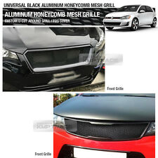 """Aluminum Wire Black Honeycomb Hex Mesh Grille Diy Kit 19""""x35"""" For All Vehicle"""