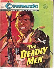 COMMANDO COMIC - No 306   THE DEADLY MEN
