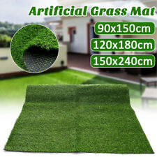 Artificial Grass Mat Synthetic Landscape Fake Turf Lawn Home Yard Garden Deco