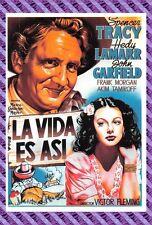 Tarjeta Postal Cartel de Película - LA VIDA ES ASI