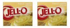 Jell-O French Vanilla Instant Pudding Dessert Mix 2 Box Pack