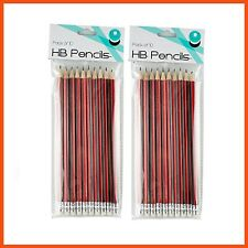120 X 2b Pencils With Eraser for Writing Drawing Sketching School Office Supply