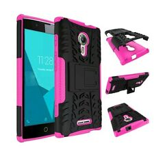 Shockproof Hybrid Armor Kickstand Phone Cover For Alcatel OneTouch Flash 2 Case