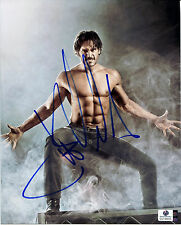 JOE MANGANIELLO Signed 8x10 Alcide Herveaux TRUE BLOOD Sexy Werewolf Photo GAI