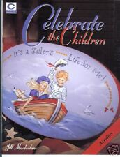 "JILL MACFARLANE ""CELEBRATE THE CHILDREN"" PAINT BOOK NEW"
