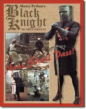 Monty Python Black Knight Security  Metal Tin Sign  Wall Art