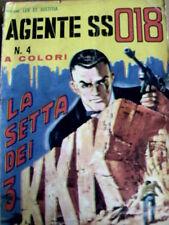 Agente SS 018 n°4 1965 ed. CORNO [G.147] - a colori