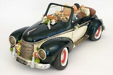 Guillermo Forchino Comic Just Married Car collection Figurine Sculpture