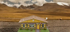 1/64 Slot Car HO Sandstone Rambler House Photo Real Kit Track Layout Accessories