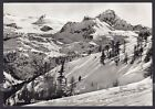 VALLE D'AOSTA LA THUILE 24 GHIACCIAIO Cartolina FOTOGRAFICA viaggiata 1957
