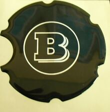 original Smart Roadster 452 Tank cap Brabus Emblem Sticker black new