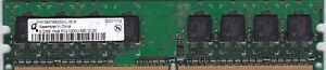 512 MB DDR2 PC2-5300 5300U DDR2-555 MHZ PC Desktop Ram 240 Pin