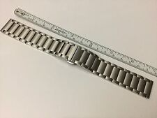 NEW 16MM STAINLESS STEEL WATCH BRACELET BAND FOR CARTIER TANK SOLO