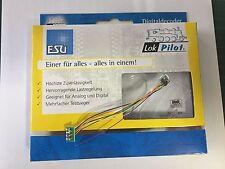 +++ ESU 53620 LokPilot Fx Nano, Funktionsdecoder MM/DCC, 8-pol. Stecker